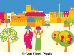 Town Square Clipart.
