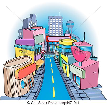 Town centre Clip Art Vector and Illustration. 161 Town centre.