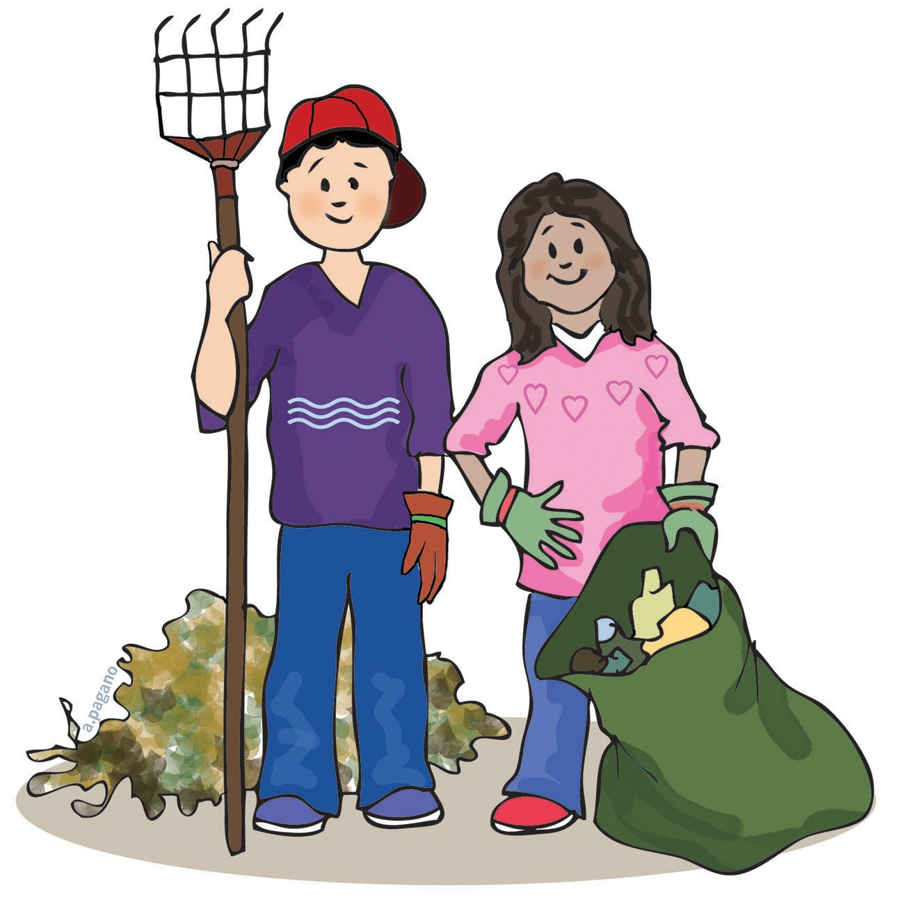 Community Clean Up Clipart.