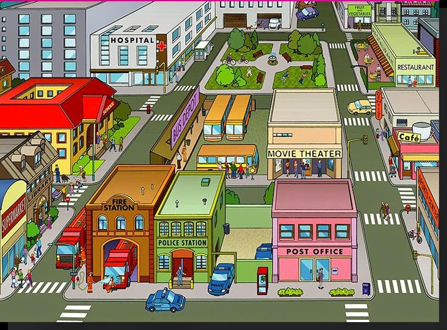 Town clipart images.