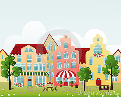Free clipart town 3 » Clipart Station.