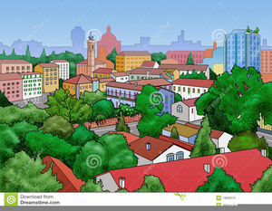 Small Town Clipart Free.