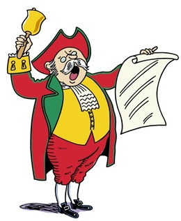 Download st neots town crier clipart MacNab Street.