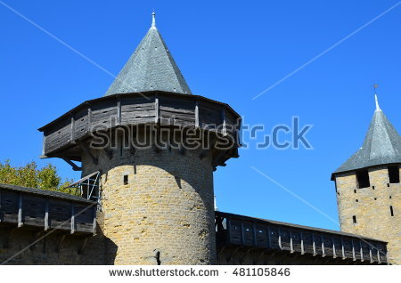 Fortified Town Stock Photos, Royalty.