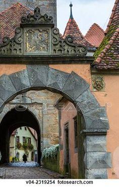 Rothenburg Gate House.
