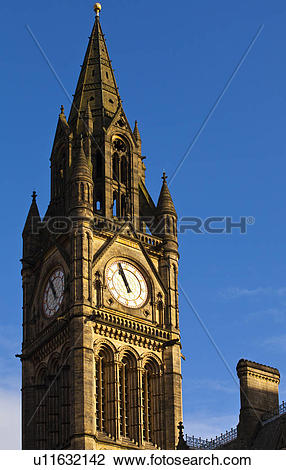 Stock Photo of England, Greater Manchester, Manchester. The grand.