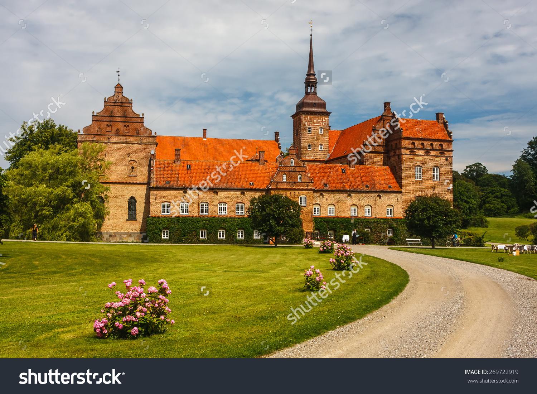 Holckenhavn Castle Close Nyborg Town Denmark Stock Photo 269722919.