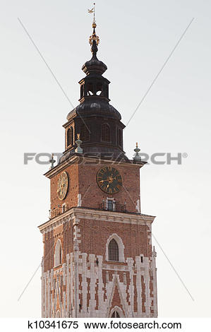 Stock Image of Town Hall Tower k10341675.