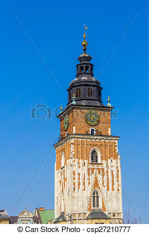 Picture of Old Town Hall (Ratusz) at Main Market Square (Rynek.