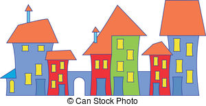 Town house Illustrations and Clipart. 38,897 Town house royalty.
