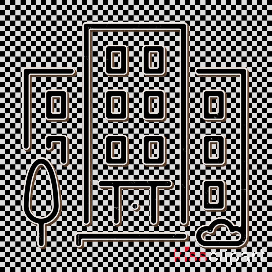 City icon Building icon Town icon clipart.