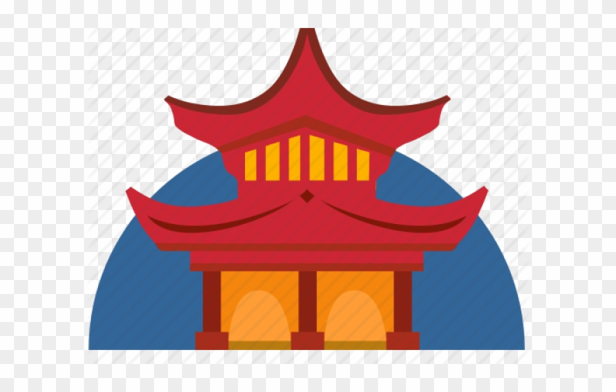 China Town Clipart China House.