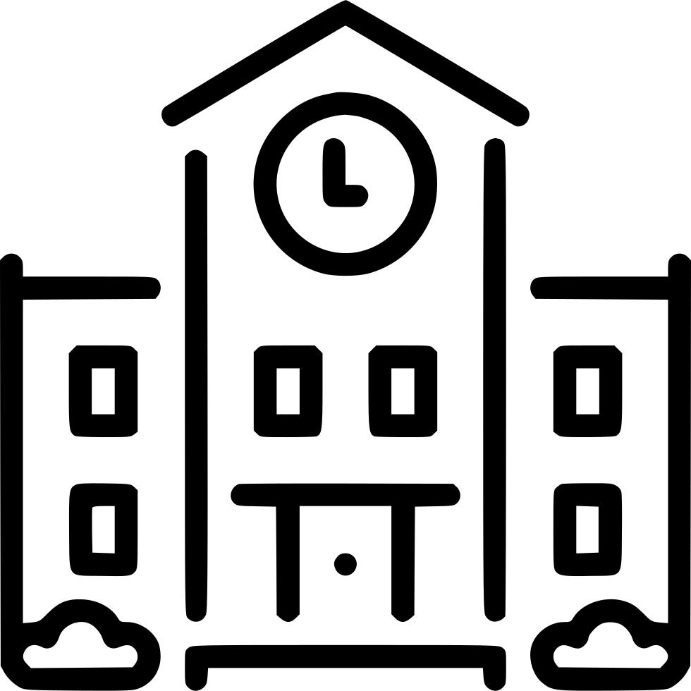 Town Hall Clip Art.
