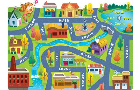 Maps clipart town map, Maps town map Transparent FREE for.