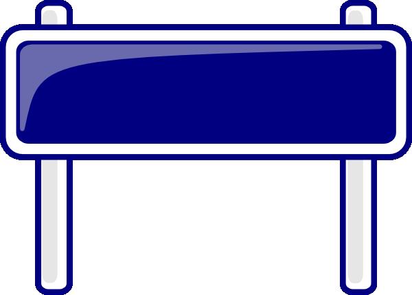 Blank sign blank interstate sign clip art at clker vector clip 2.