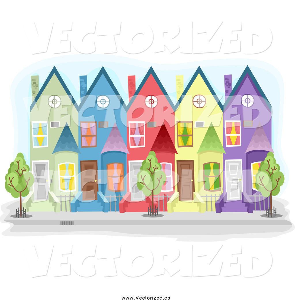 Clipart town house.