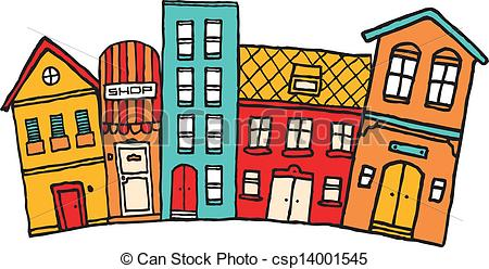Towns clipart.