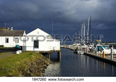 Stock Photography of Port Townsend, Washington State, USA; Point.