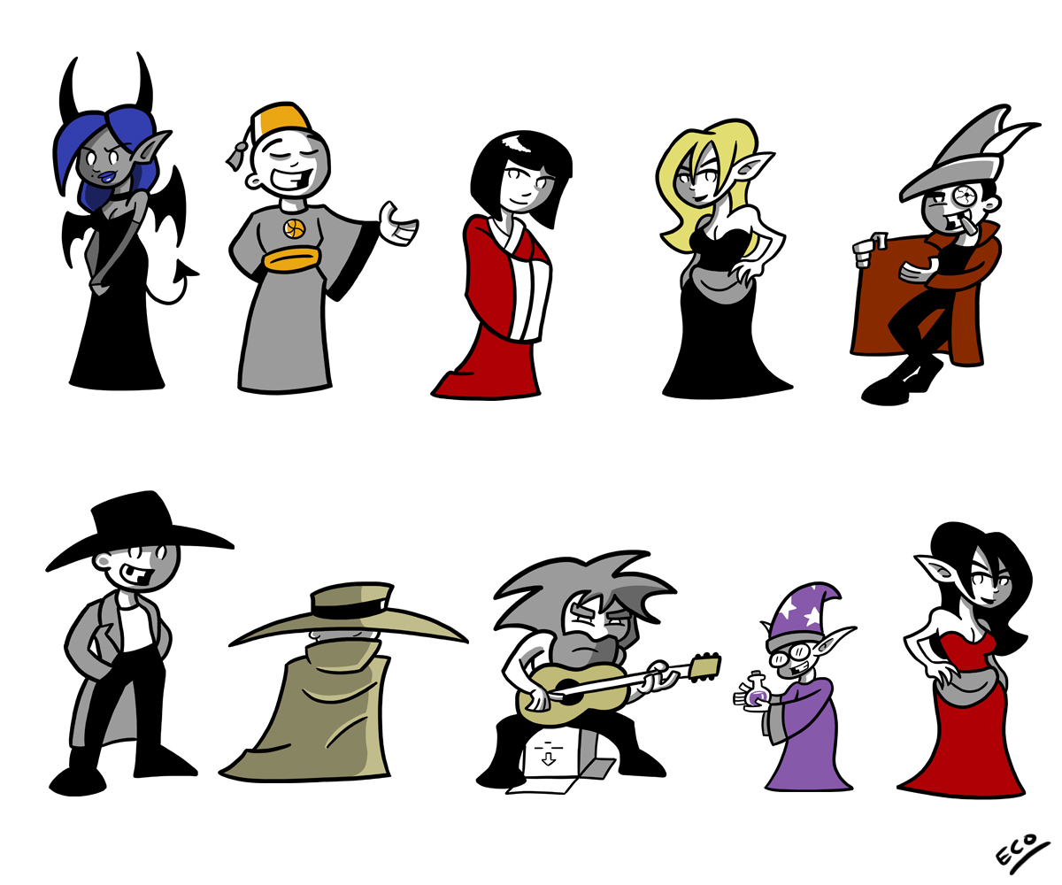 D and D Townsfolk by Atom95 on DeviantArt.