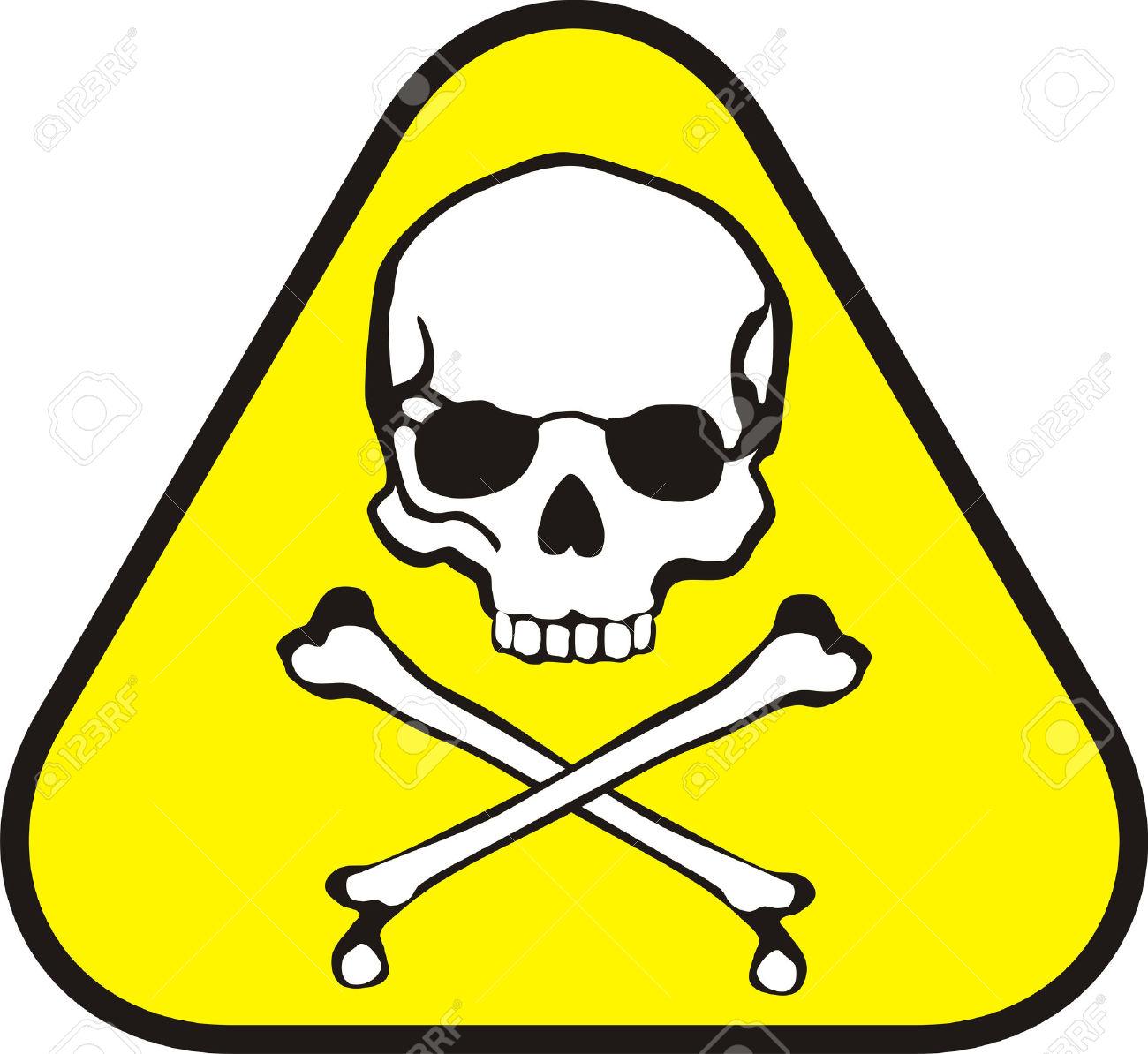 Toxic logo clipart.