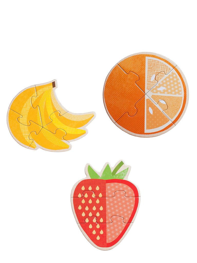 Baby Kids 3+ Year Old Fruits Puzzle safe non.