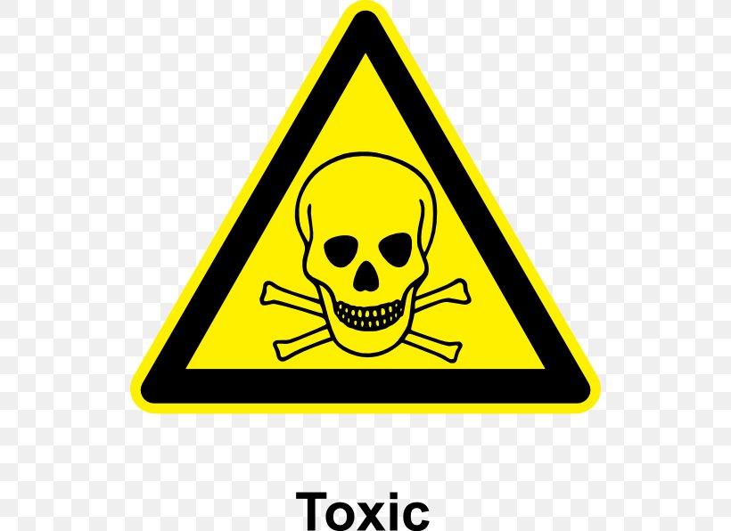 Household Hazardous Waste Toxicity Toxic Waste Hazard Symbol.