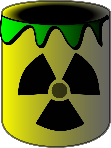 Toxic chemical clipart.