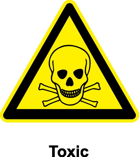 Sign Toxic Clip Art at Clker.com.