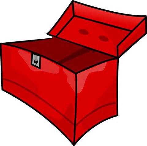 Empty Toy Box Clipart.