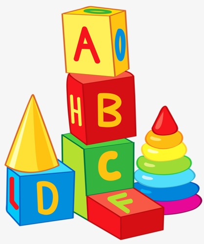 Toy blocks clipart 2 » Clipart Station.