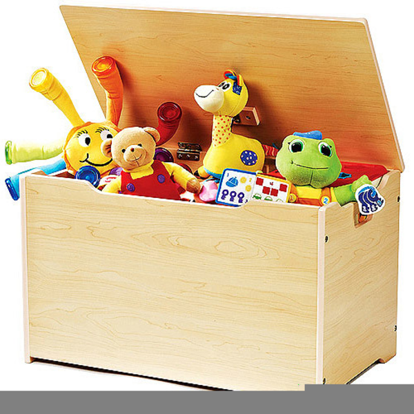 Free Toybox Clipart.