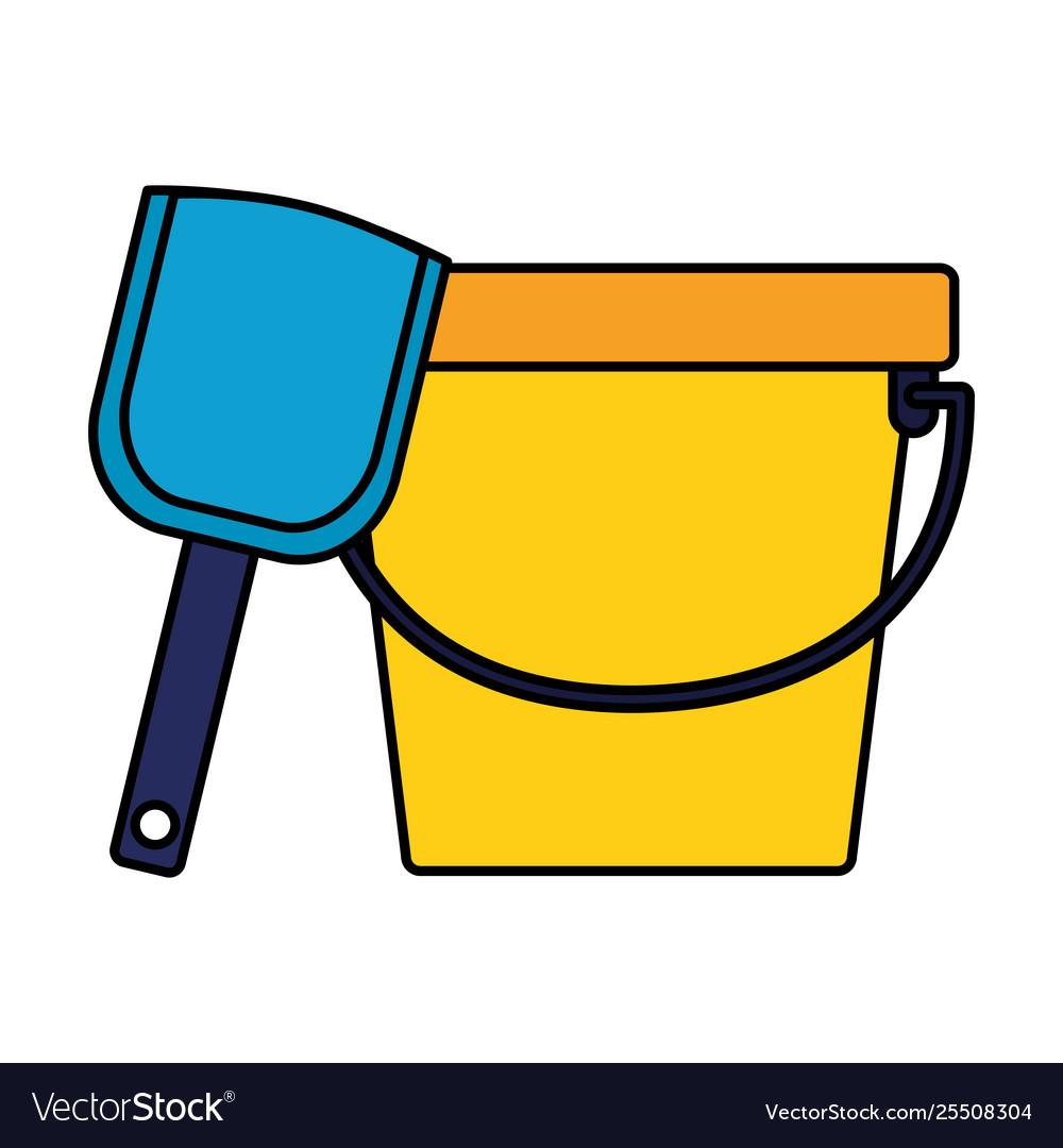 Bucket shovel kids toy.