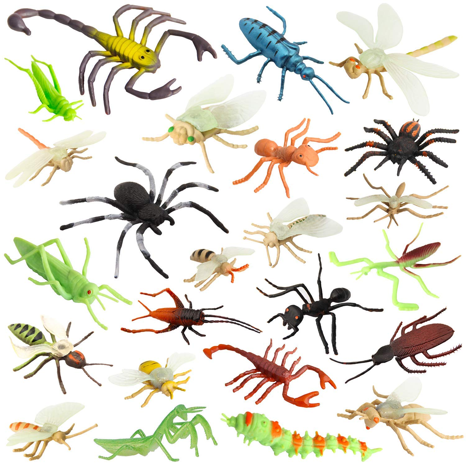 Insect Bug Toy Figures for Kids Boys, 2.