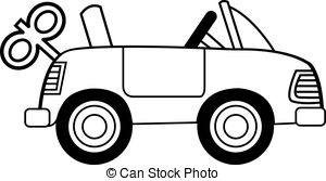 844 Toy Car free clipart.