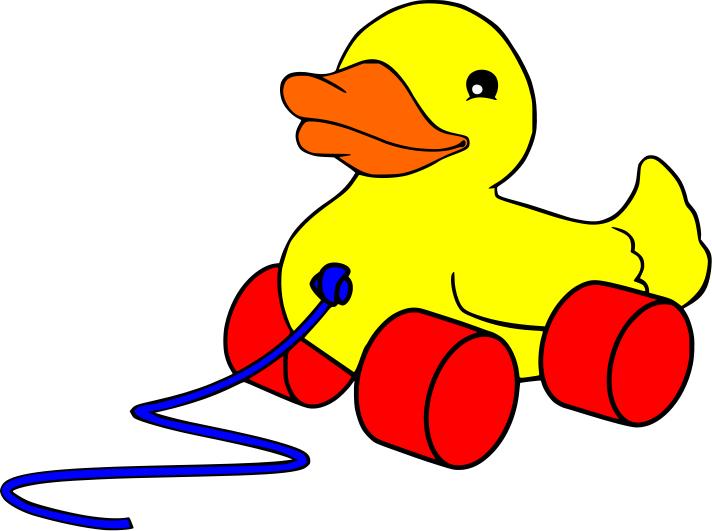 Baby toy clip art.