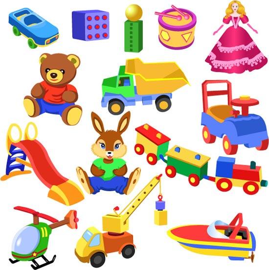 Boy toys clipart.