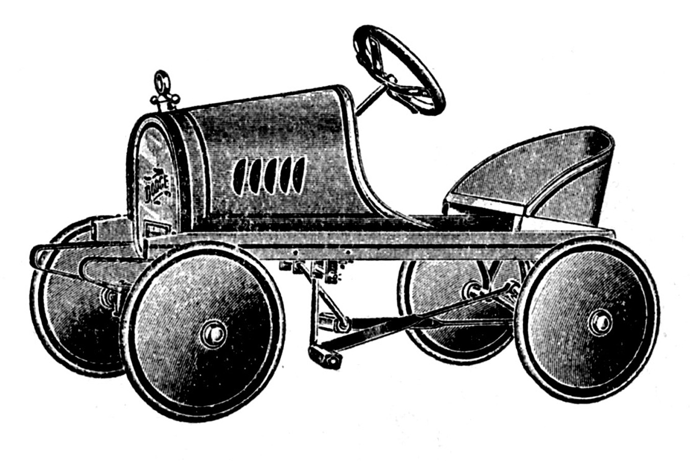Old fashioned toys clipart.