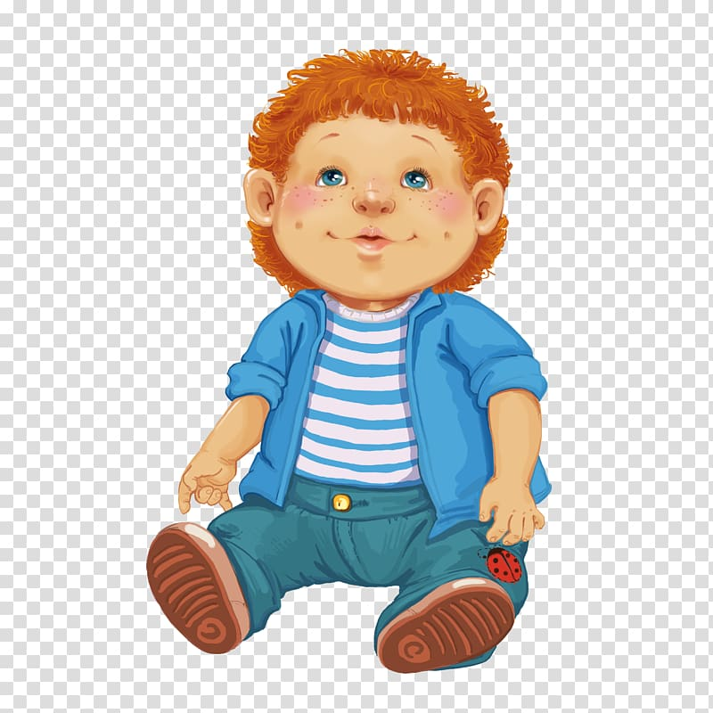 Doll Toy , Boy Toy Dolls transparent background PNG clipart.
