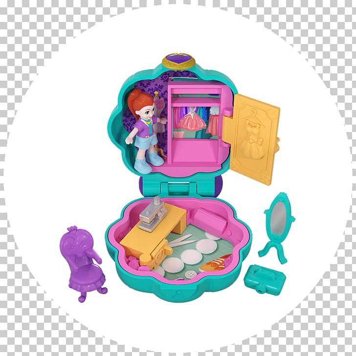 Polly Pocket Mattel Toy Doll, toy PNG clipart.