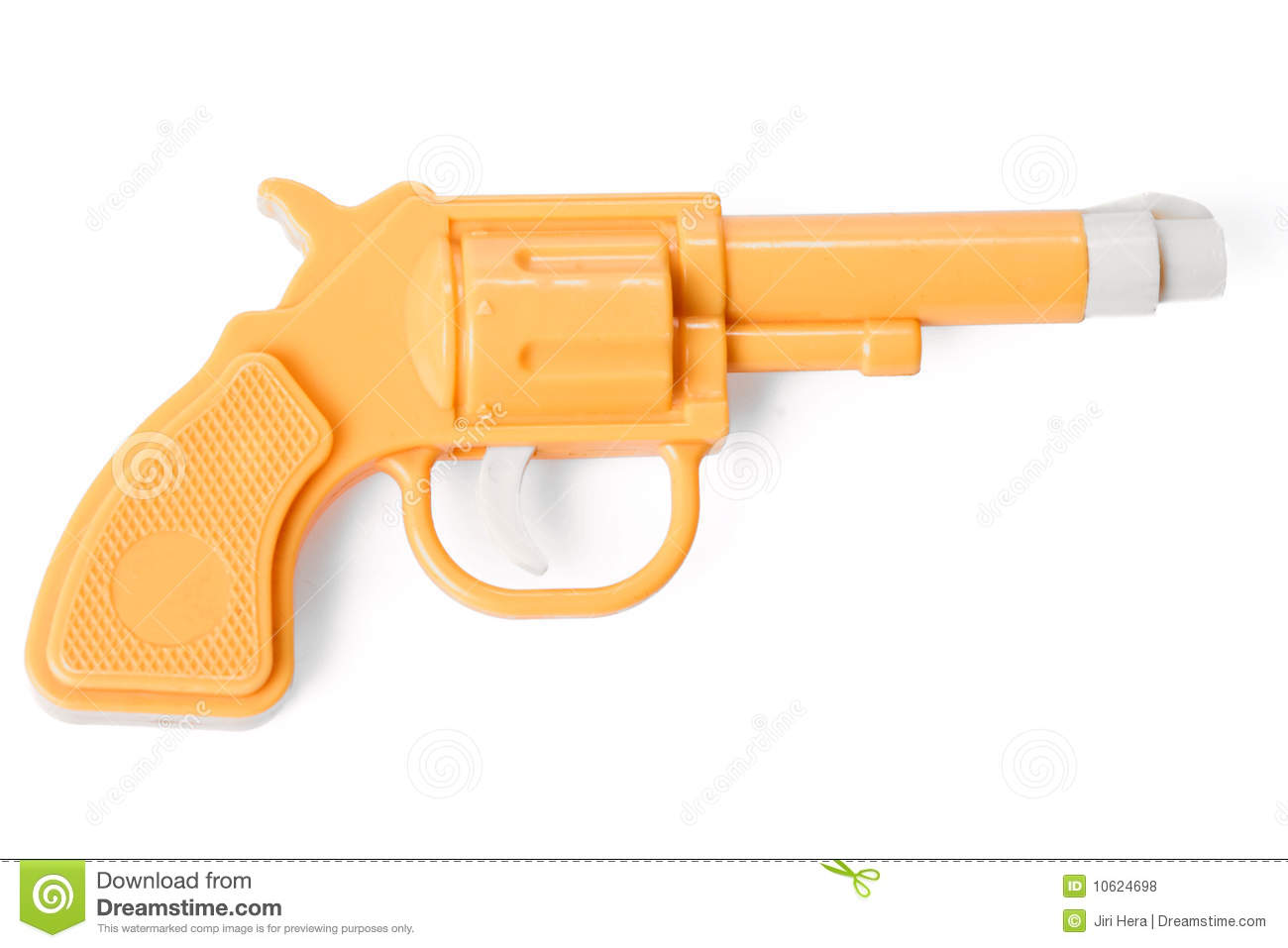Toy Gun With Bullets Royalty Free Stock Image.