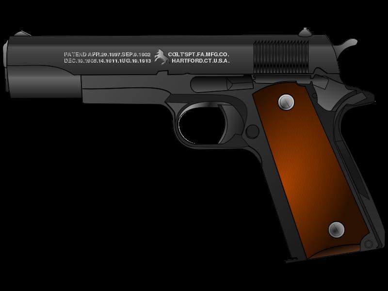 Toy gun clipart.