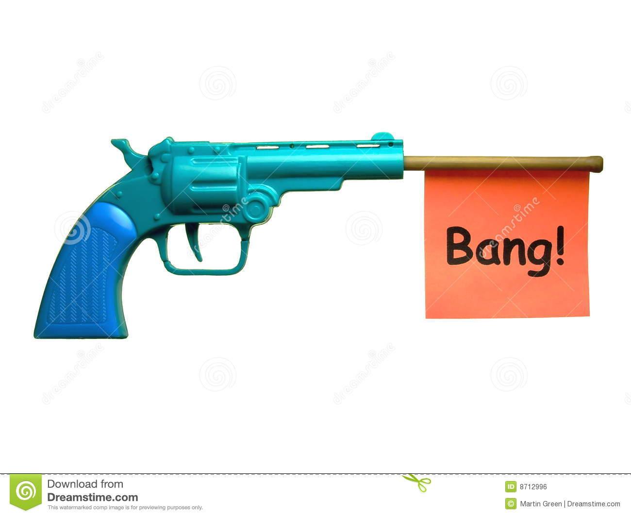 Toy Pistol Clipart.