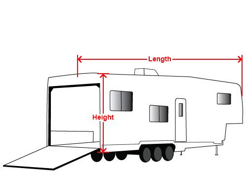 5th Wheel Cover for Toy Hauler.