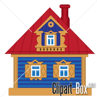 CLIPART TOY HOUSE.