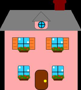 Doll House Clip Art.