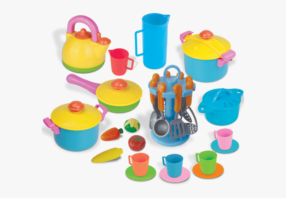 Set Clipart Toy Kitchen.