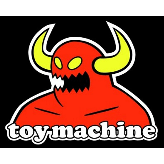 "TOY MACHINE ""Monster"" Vinyl Banner (35"" x 27"")."