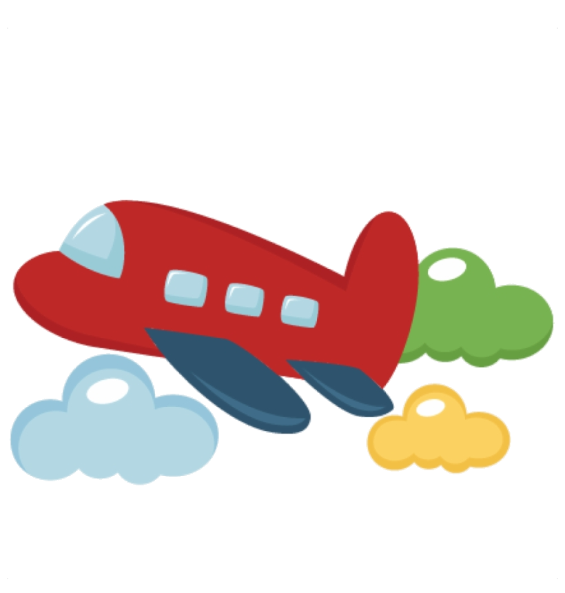 Airplane Aviation Clipart Toy Plane Cute Transparent Png.