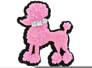 Free Pink Poodle Clipart.