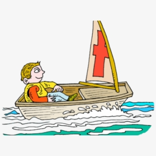 Row Boat Clipart Toy Sailboat.